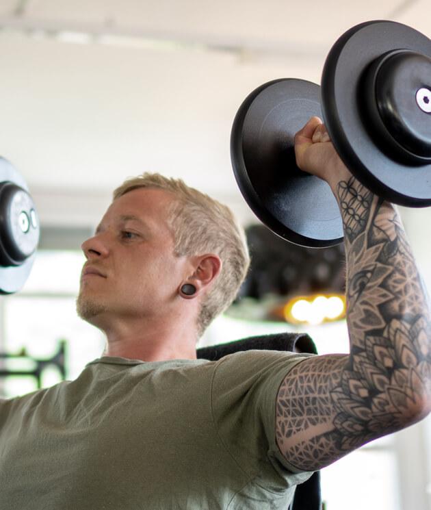 benew fitness studio heubach hantel