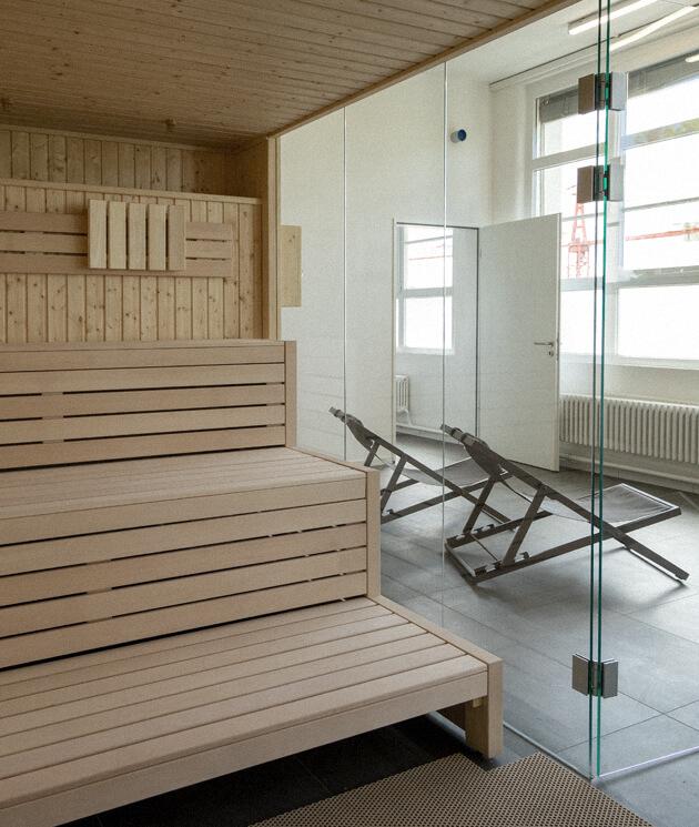 benew fitness studio heubach relax sauna